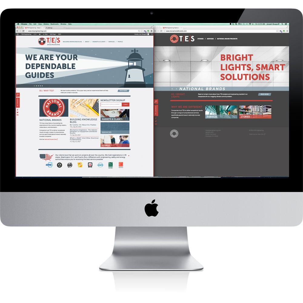 TES Engineering Launches New Websites
